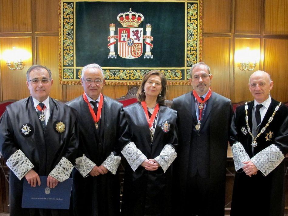Imposición medalla Merito Abogacia